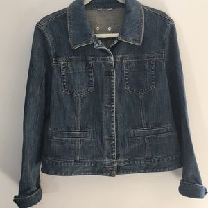 LOFT DENIM JACKET. L